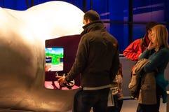 科技馆的Wellcome翼,伦敦,英国 免版税库存照片