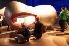 科技馆的Wellcome翼,伦敦,英国 免版税库存图片