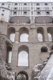 Cesky Krumlov城堡  免版税库存照片