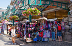 科文特花园市场,伦敦 库存图片