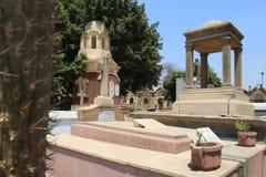 科普特人的公墓在老开罗 图库摄影
