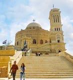 科普特人的处所开罗 免版税库存照片