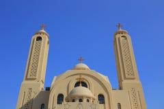 科普特人的教会 库存照片
