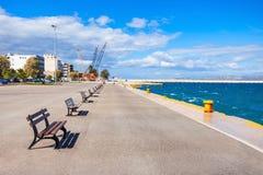 科林斯湾沿海岸区在希腊 免版税库存照片