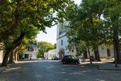 科洛尼亚德尔萨克拉门托,一个城市在西南乌拉圭 免版税库存照片