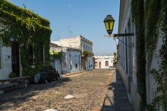 科洛尼亚德尔萨克拉门托,一个城市在西南乌拉圭 免版税库存图片
