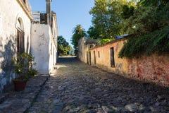 科洛尼亚德尔萨克拉门托,一个城市在西南乌拉圭 库存照片