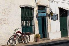 科洛尼亚德尔萨克拉门托,一个城市在西南乌拉圭 免版税图库摄影