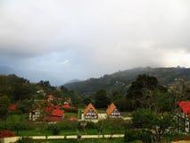 科洛尼亚省托瓦村庄,委内瑞拉 免版税库存图片