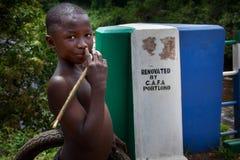 洛科港区,塞拉利昂,非洲 免版税库存图片