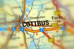 科特布斯,勃兰登堡,德国-欧洲 免版税库存照片
