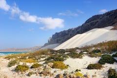 索科特拉岛风景 库存图片