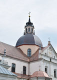 科珀斯克里斯提教会在Niasvizh,白俄罗斯 免版税图库摄影