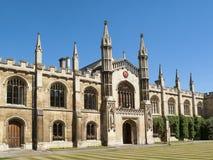 科珀斯克里斯蒂学院,剑桥大学 库存图片