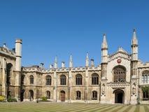 科珀斯克里斯蒂学院,剑桥大学 免版税库存图片