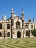 科珀斯克里斯蒂学院,剑桥大学 免版税库存照片