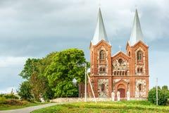 科珀斯克里斯蒂教会 库存照片