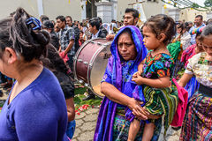 科珀斯克里斯蒂队伍, Parramos,危地马拉 库存照片