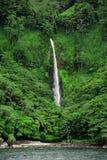 科科岛瀑布 免版税图库摄影