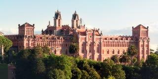 科米利亚斯,西班牙罗马教皇大学  免版税库存照片