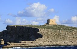 科米诺岛小海岛  库存照片