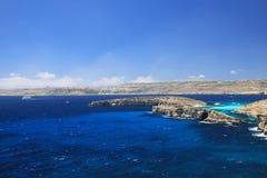 科米诺岛海岸  库存图片