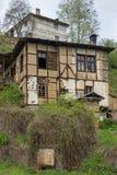 科索沃,保加利亚地道村庄有19世纪房子的 库存照片
