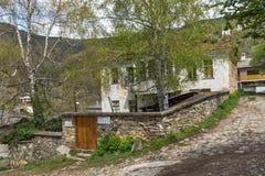 科索沃,保加利亚村庄有地道19世纪房子的 免版税库存照片
