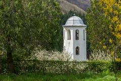 科索沃,保加利亚村庄有地道19世纪房子的 免版税图库摄影