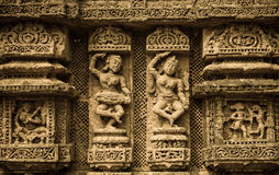 科纳克太阳神庙寺庙 库存图片