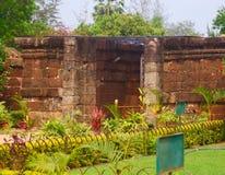 科纳克太阳神庙苏里亚mandir主闸 免版税图库摄影