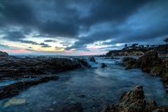 科罗娜del Mar,加利福尼亚 免版税库存照片