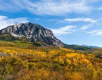 科罗拉多优美的风景 库存图片