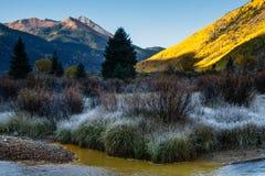 科罗拉多优美的风景 免版税库存照片