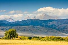科罗拉多前面范围 免版税库存照片