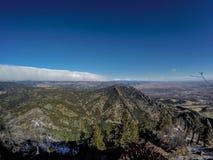 科罗拉多前面范围 免版税库存图片