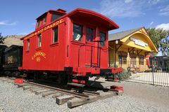 科罗拉多博物馆铁路 库存照片