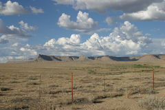 科罗拉多印第安保护区 库存照片