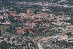 科罗拉多大学巨石城 库存照片