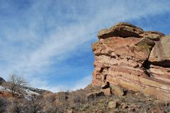 科罗拉多山场面 免版税库存图片