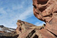 科罗拉多山场面 图库摄影