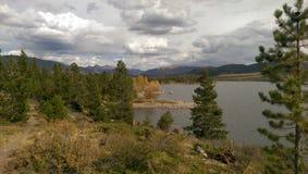 科罗拉多山湖 免版税库存照片