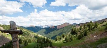 科罗拉多山脉 库存照片