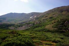 科罗拉多山风景 库存图片