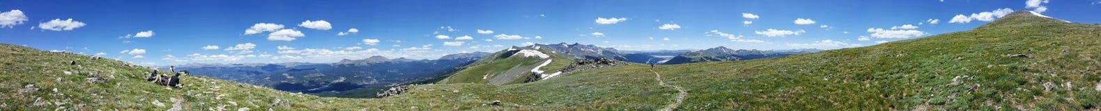 科罗拉多山风景 免版税库存图片