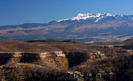 科罗拉多山 库存图片