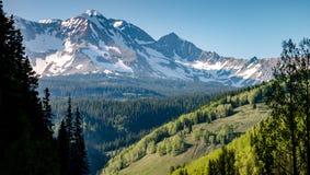科罗拉多峰顶 库存照片