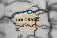 科罗拉多州-美国U S 库存照片