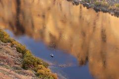 科罗拉多捕鱼河 库存图片
