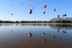 科罗拉多斯普林斯气球经典之作 免版税库存图片